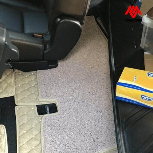 Thảm lót sàn 6D cacbon ô tô